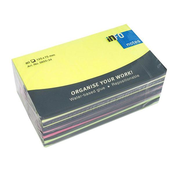 کاغذ یادداشت چسب دار اینفو مدل 21-5855