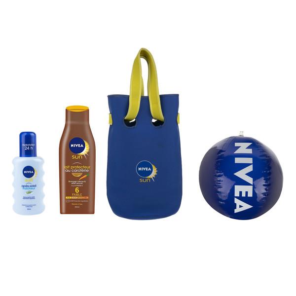 پک بهداشتی نیوآ به همراه کیف و توپ