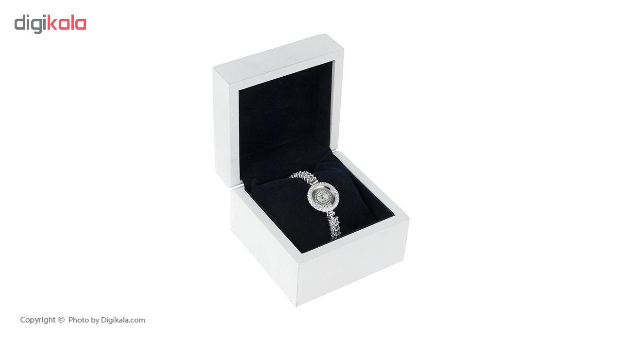 ساعت مچی عقربه ای نقره زنانه رویال کرون مدل RC5308-1
