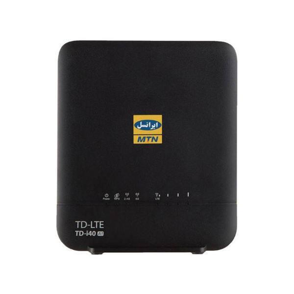 مودم TD-LTE ایرانسل مدل TD-i40 A1 به همراه سیم کارت TD-LTE