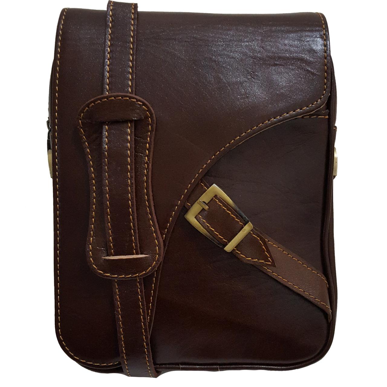 کیف دوشی زانکو چرم مدل ماهان 700700