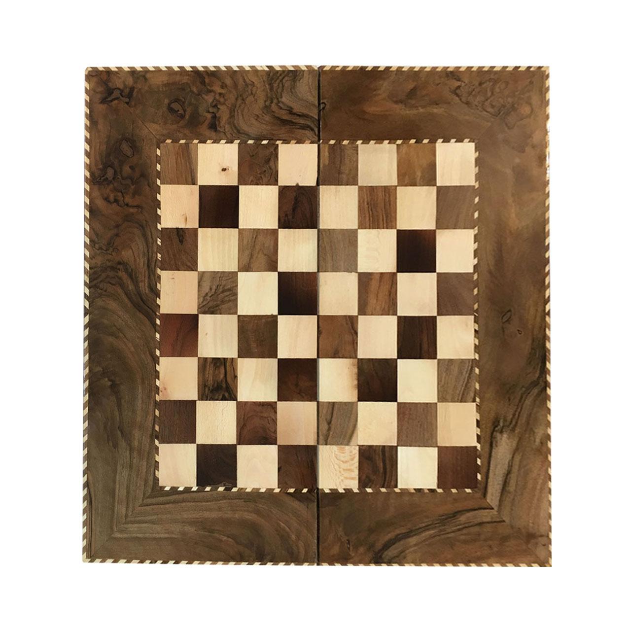 صفحه شطرنج خاتم کاری مدلLM04
