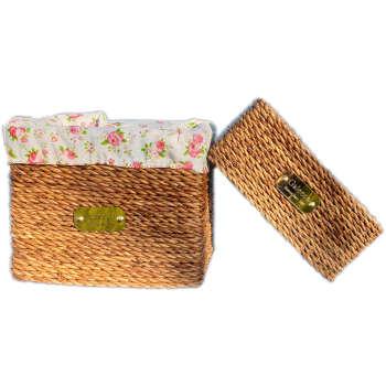 ست سطل و جعبه دستمال کاغذی گالیکو مدل flower