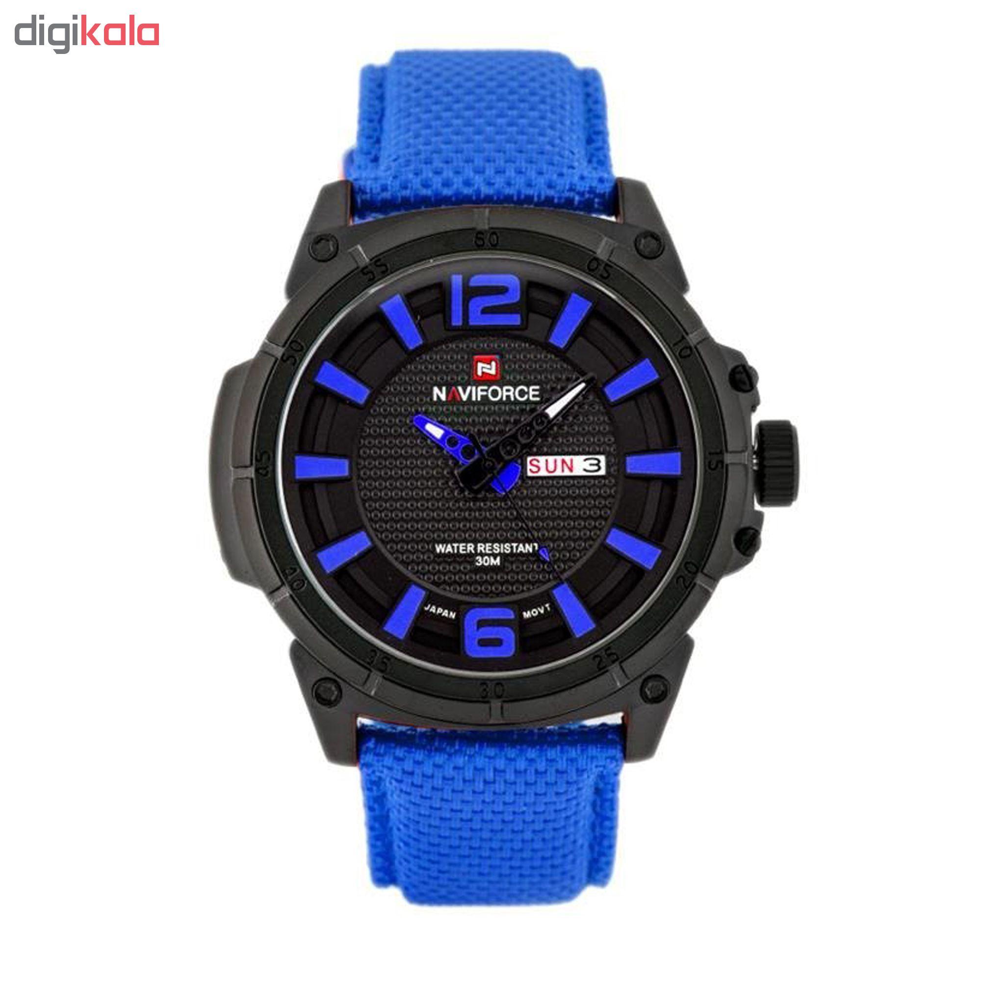 خرید ساعت مچی عقربه ای مردانه نیوی فورس مدل NF9066/BBEBE