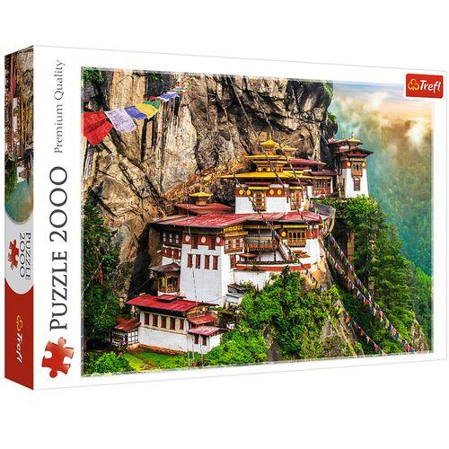 پازل 2000 تکه تریفل مدل Tigers Nest Bhutan