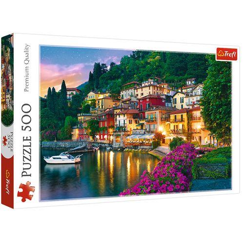 پازل 500 تکه تریفل مدل Italy Lake Como