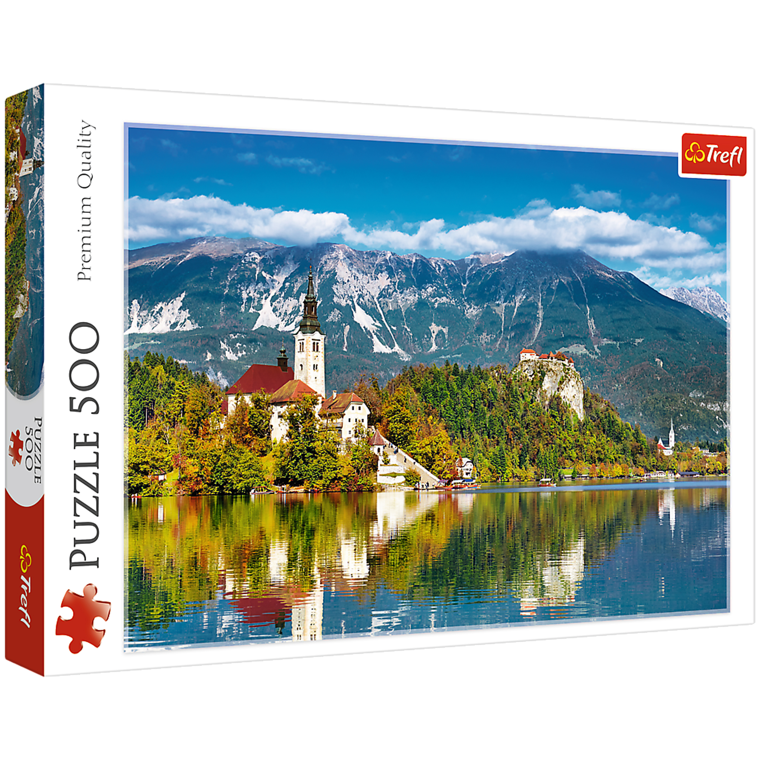 پازل 500 تکه تریفل مدل Bled Slovenia