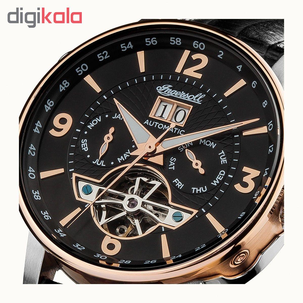 کد تخفیف                                      ساعت مچی عقربه ای مردانه اینگرسل مدل I00702