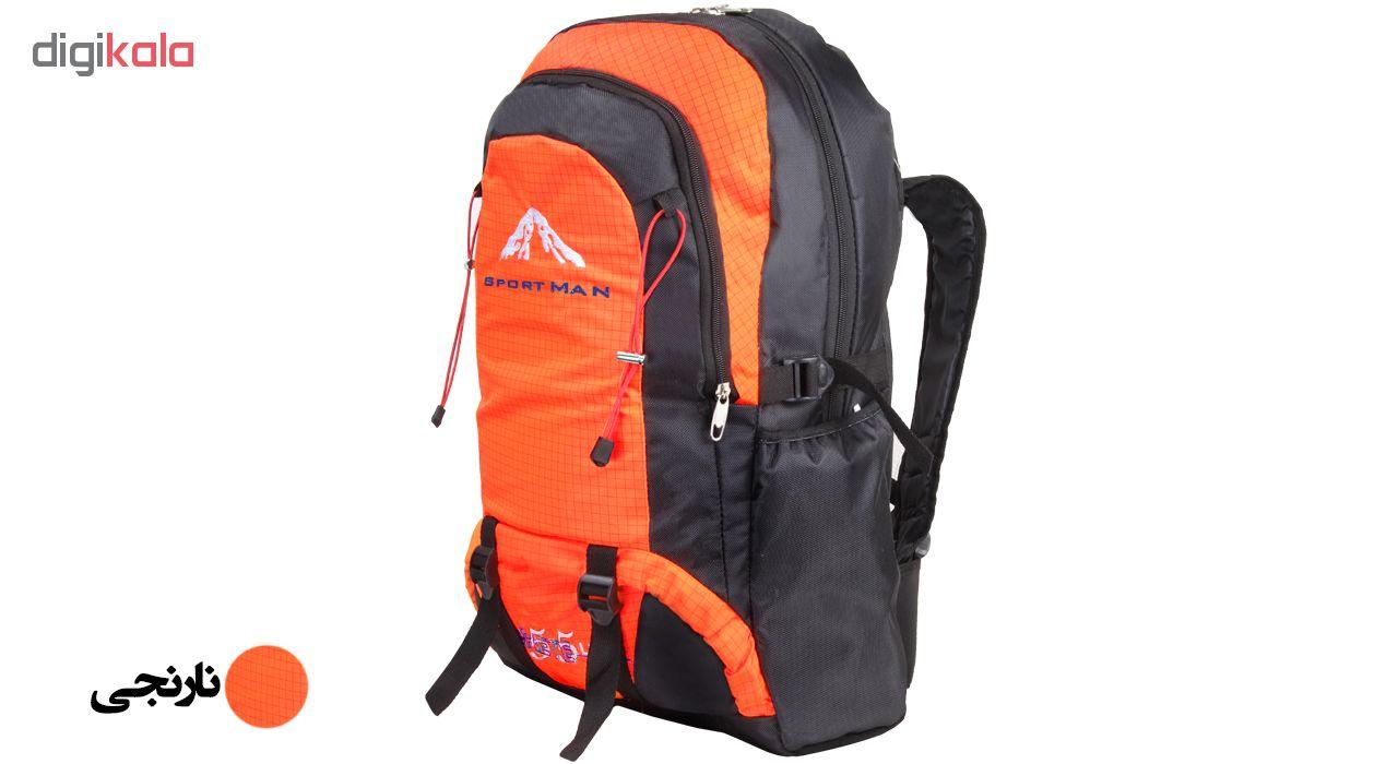 کوله پشتی کوهنوردی 55 لیتری اسپرت من کد 063560
