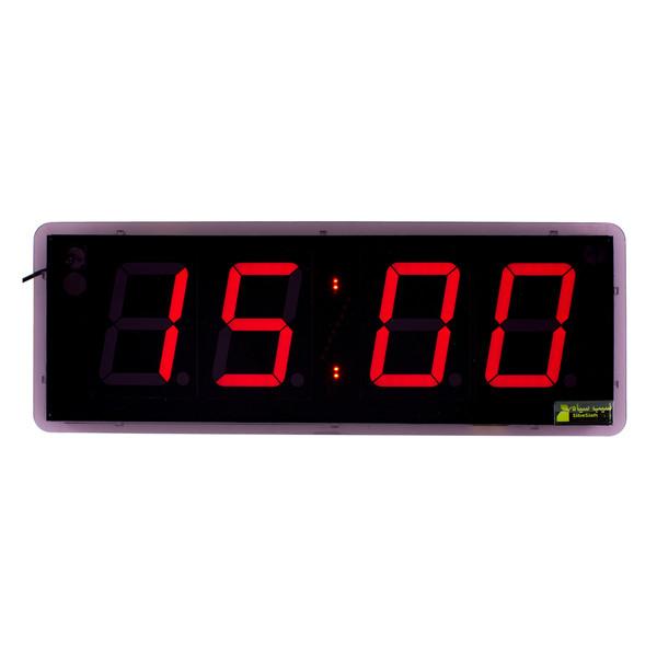 ساعت دیجیتال دیواری سیب سیاه کد 1848