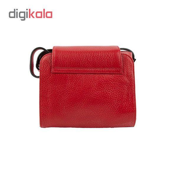 کیف دوشی زنانه کروکو مدل گلدن