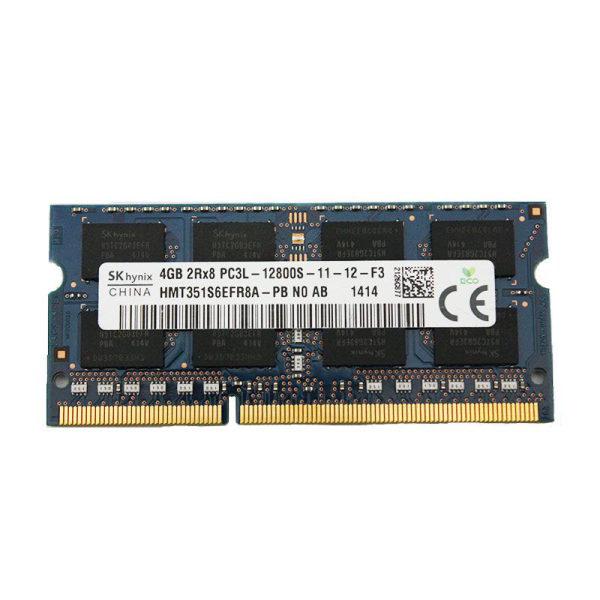 رم لپ تاپ  DDR3L تک کاناله 1600مگاهرتز اس کی هاینیکس مدل HMT351S6EFR8A ظرفیت 4 گیگابایت