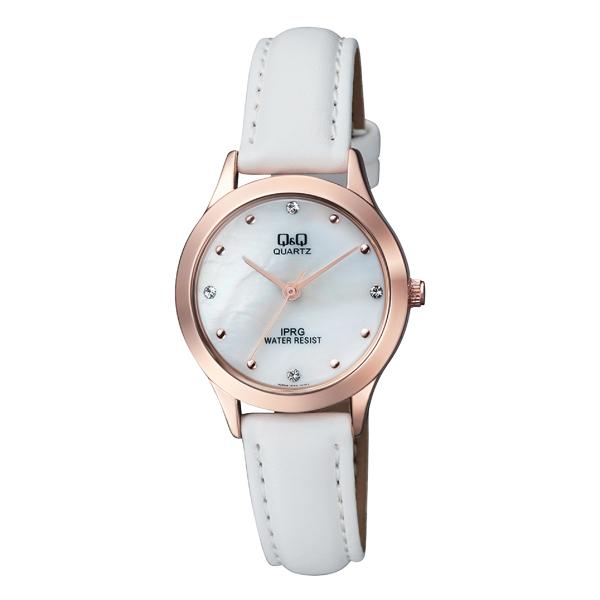 ساعت مچی عقربه ای زنانه کیو اند کیو مدل QZ05J101Y