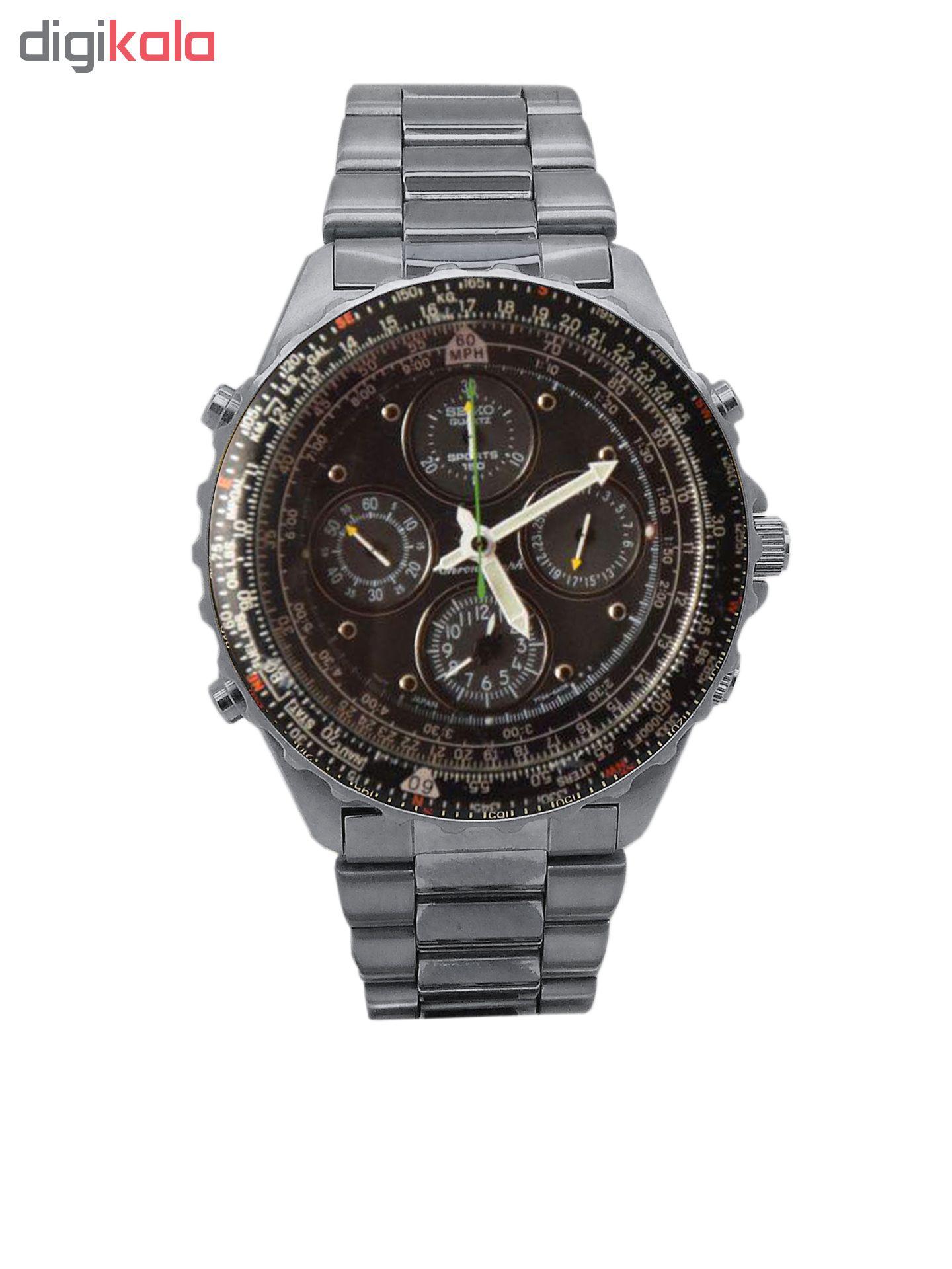 ساعت مچی عقربه ای مردانه سیکو مدل 7T34