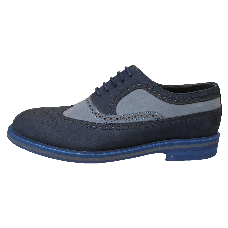 کفش مردانه کد 790214 رنگ سرمه ای