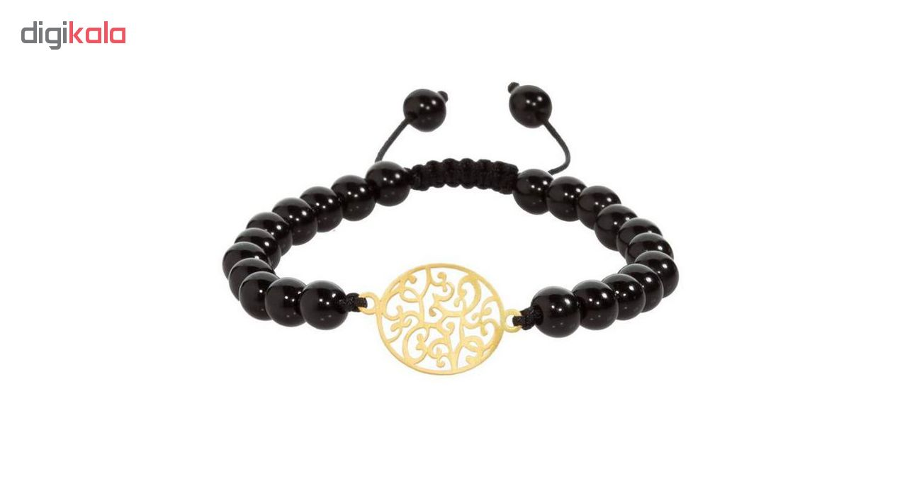 دستبند طلا 18عیار زنانه الن نار کد EL186