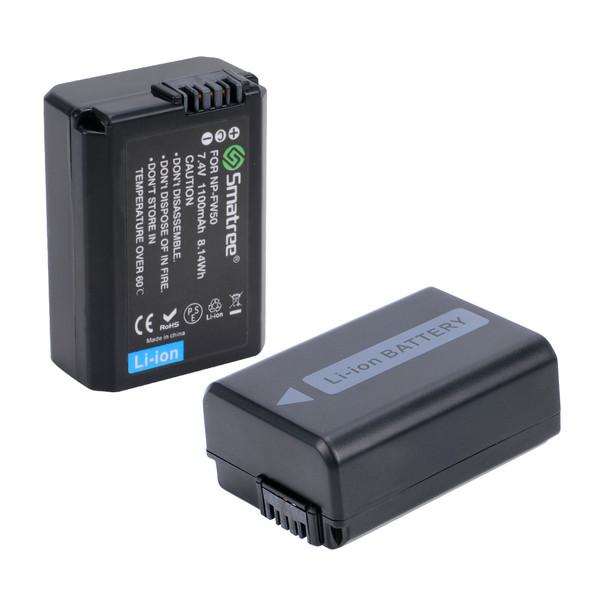 باتری دوربین اسماتری مدل NP-FW50 بسته دو عددی