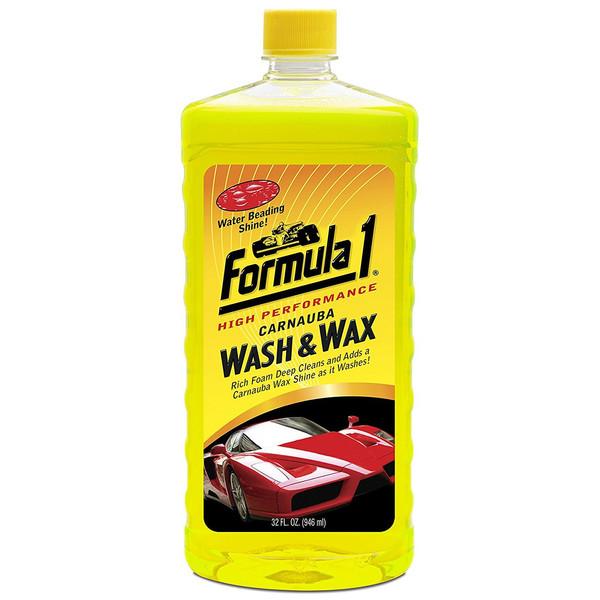 شامپو شست و شو خودرو فرمول وان مدل Wash And Wax 652815 - حجم 946 میلی لیتر