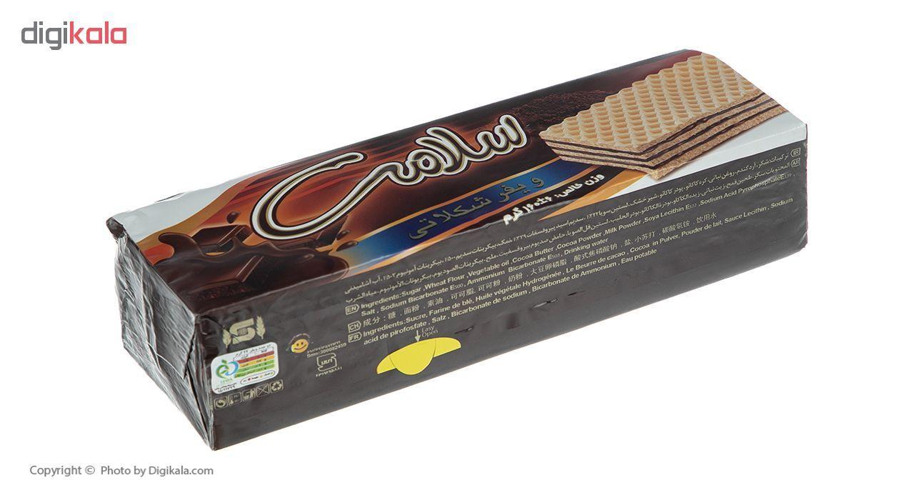 ویفر شکلاتی سلامت مقدار 160 گرم main 1 1