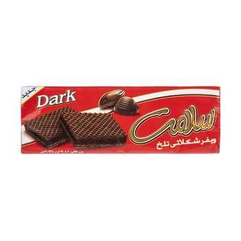 ویفر شکلاتی تلخ سلامت مقدار 140 گرم