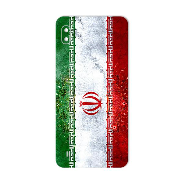 برچسب پوششی ماهوت طرح IRAN-Flag مناسب برای گوشی موبایل سامسونگ Galaxy  A10