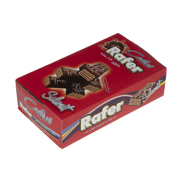 ویفر شکلاتی سلامت بسته 24 عددی