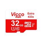 کارت حافظه microSDHC ویکومن مدل Extra 433X کلاس 10 استاندارد UHS-I U1 سرعت 65MBps ظرفیت 32 گیگابایت  thumb