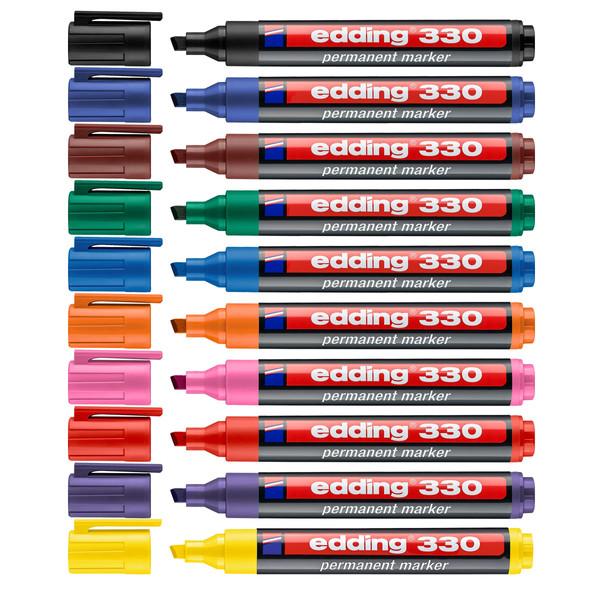 ماژیک ادینگ مدل 330 بسته 10 عددی