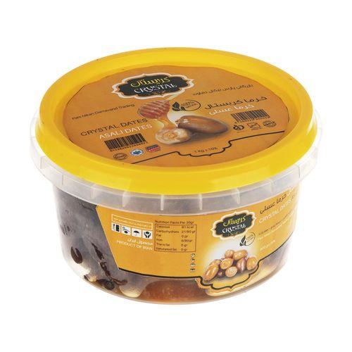 خرمای عسلی کریستال وزن 900 گرم