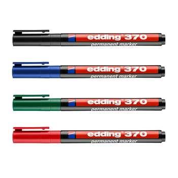 ماژیک ادینگ مدل 370/4 بسته 4 عددی