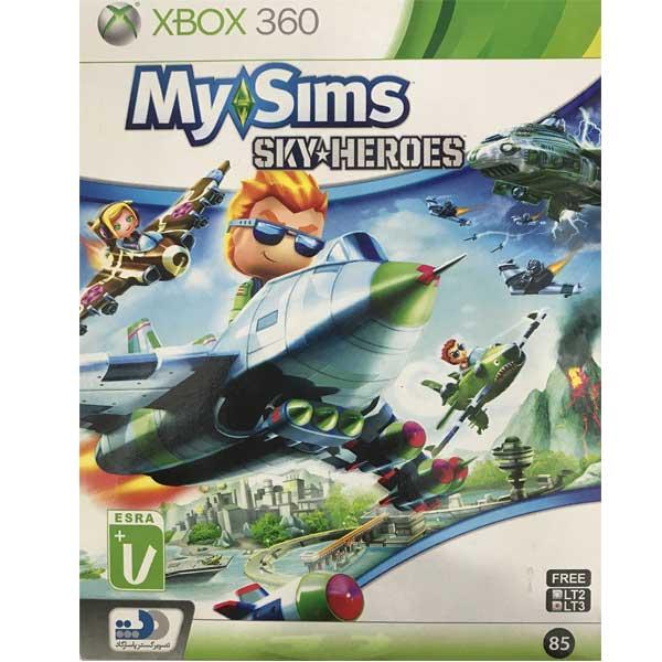 بازی my sims sky heroes نشر تصویر گستر پاسارگاد مخصوص XBOX360