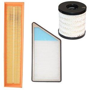 فیلتر هوا خودرو سرعت فیلتر مدل C29 مناسب برای پژو 206 و 207 به همراه فیلتر کابین و فیلتر روغن