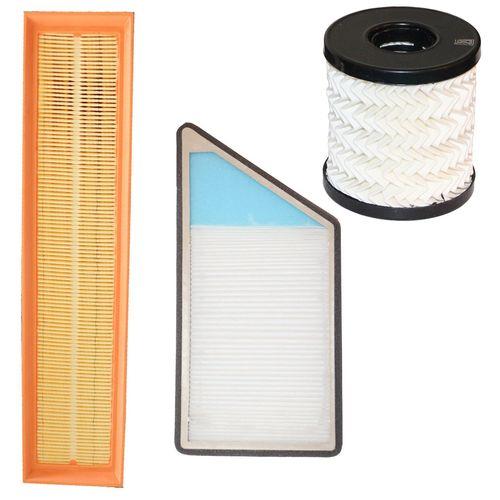 فیلتر هوا خودرو سرعت فیلتر مدل C29 مناسب برای پژو 206 و 207 و رانا به همراه فیلتر کابین و فیلتر روغن