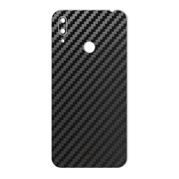 برچسب پوششی ماهوت مدل Carbon-Fiber مناسب برای گوشی موبایل هوآوی Y7 Prime 2019