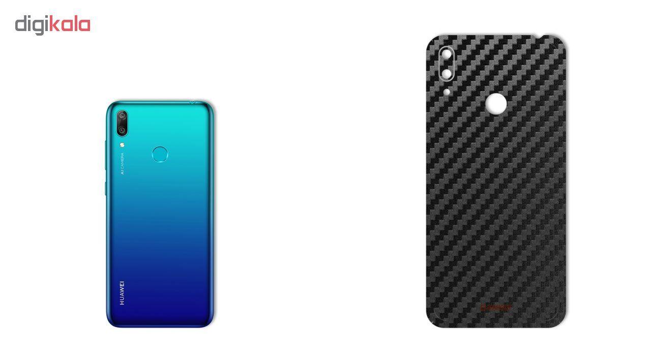 برچسب پوششی ماهوت مدل Carbon-Fiber مناسب برای گوشی موبایل هوآوی Y7 Prime 2019 main 1 1