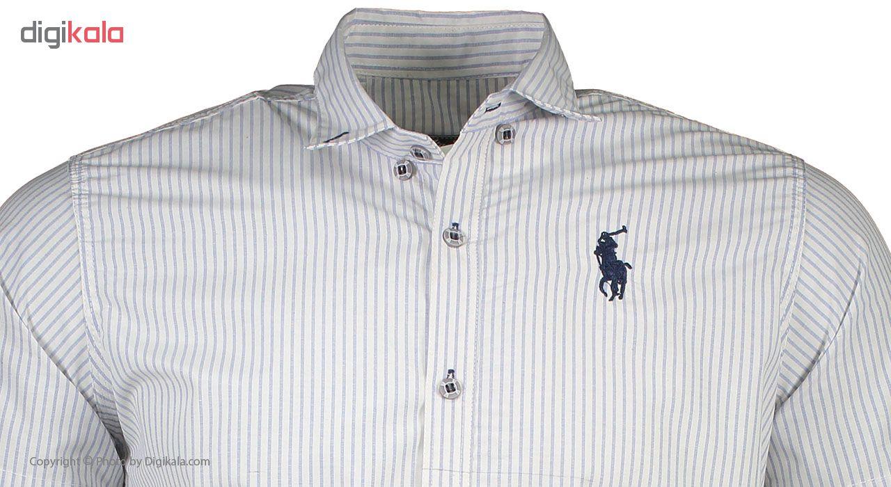 پیراهن آستین کوتاه مردانه کد btt 135-8