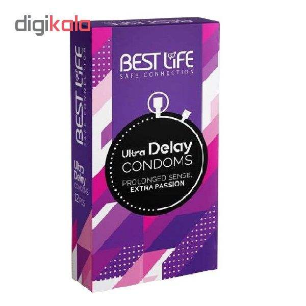 کاندوم بست لایف مدل Ultra Delay بسته 12 عددی main 1 1