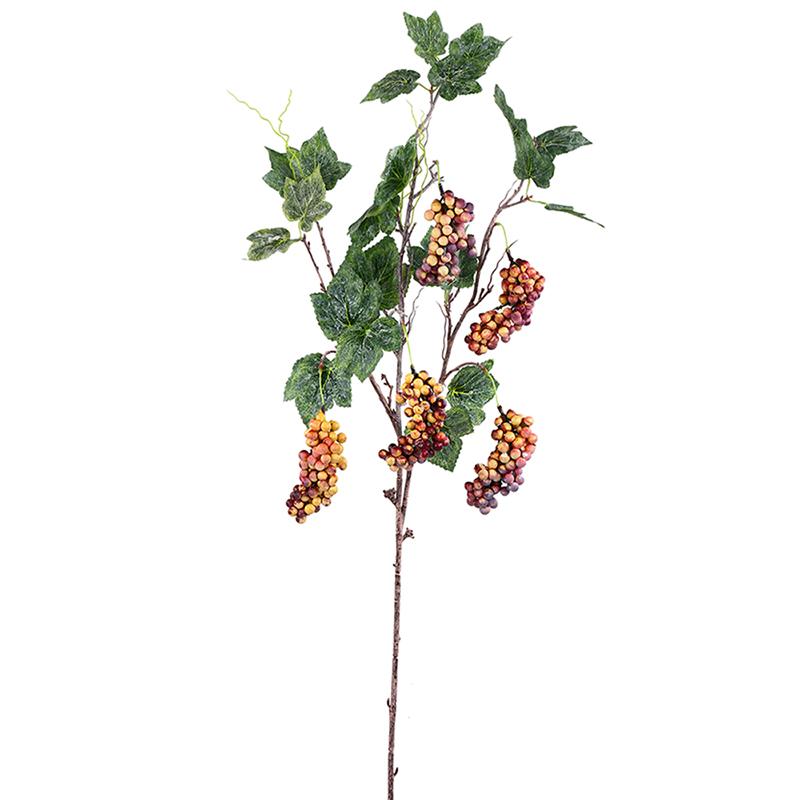 گل مصنوعی هومز طرح شاخه انگور کد 1086 بسته 2 عددی