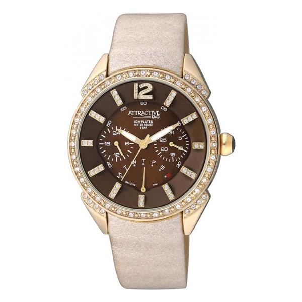 ساعت مچی عقربه ای زنانه کیو اند کیو مدل DA77J112Y 54