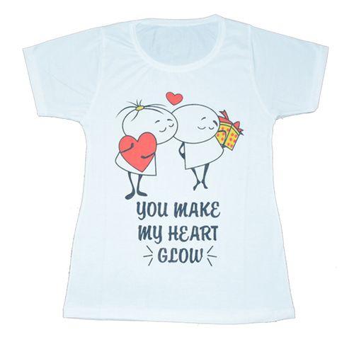 تی شرت زنانه طرح عشق کد 555