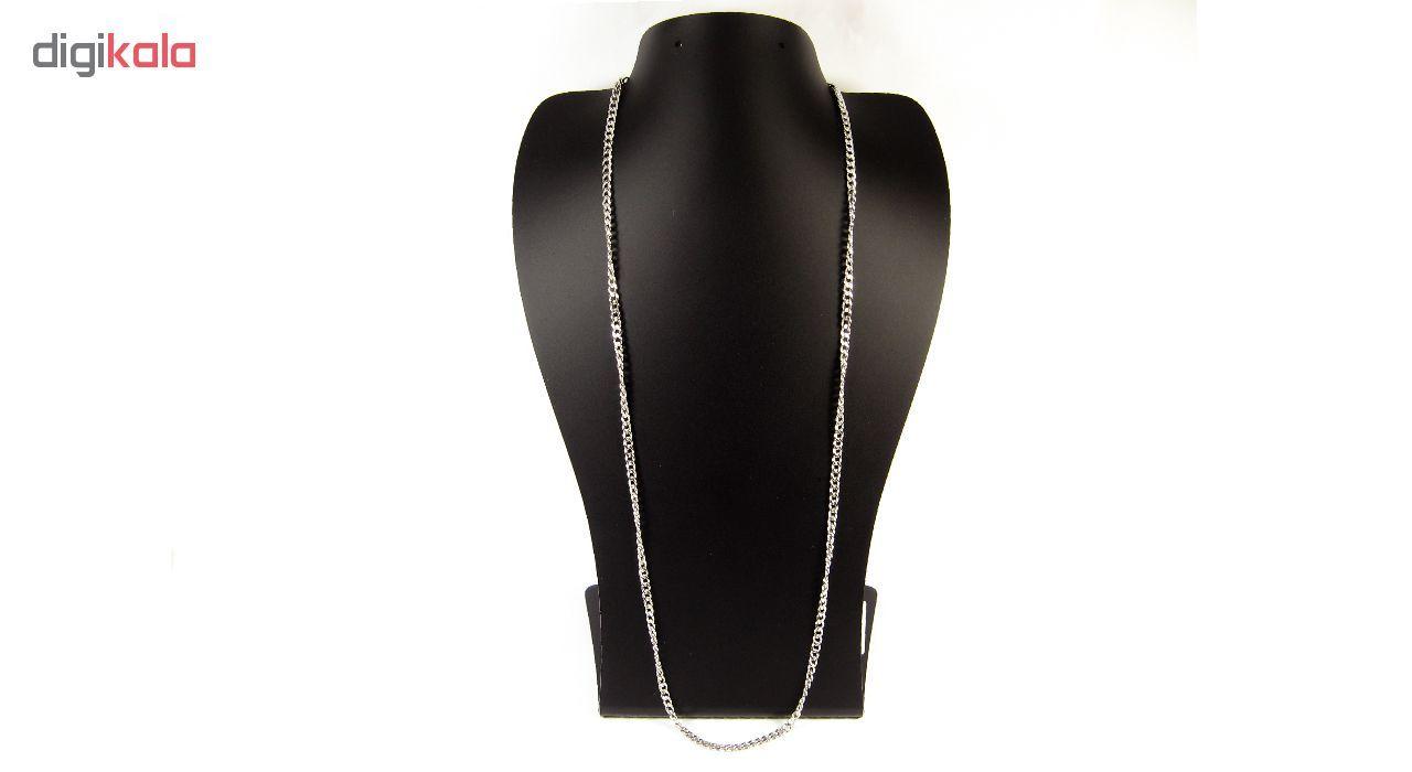 گردنبند مردانه مانچو طرح کارتیر مدل sf010 -  - 2