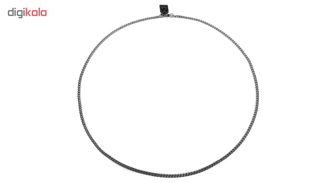 گردنبند مردانه مانچو طرح کارتیر مدل sf010 main 1 4