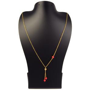 گردنبند طلا 18 عیار زنانه مانچو مدل sfg631
