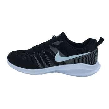کفش مخصوص پیاده روی مردانه مدل  n102  رنگ مشکی طوسی