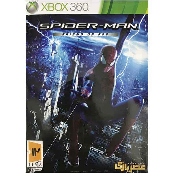 بازی spider man friend or foe نشر عصر بازی مخصوص xbox360
