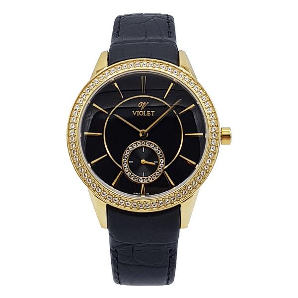 خرید ساعت مچی عقربه ای زنانه ویولت کد 03692