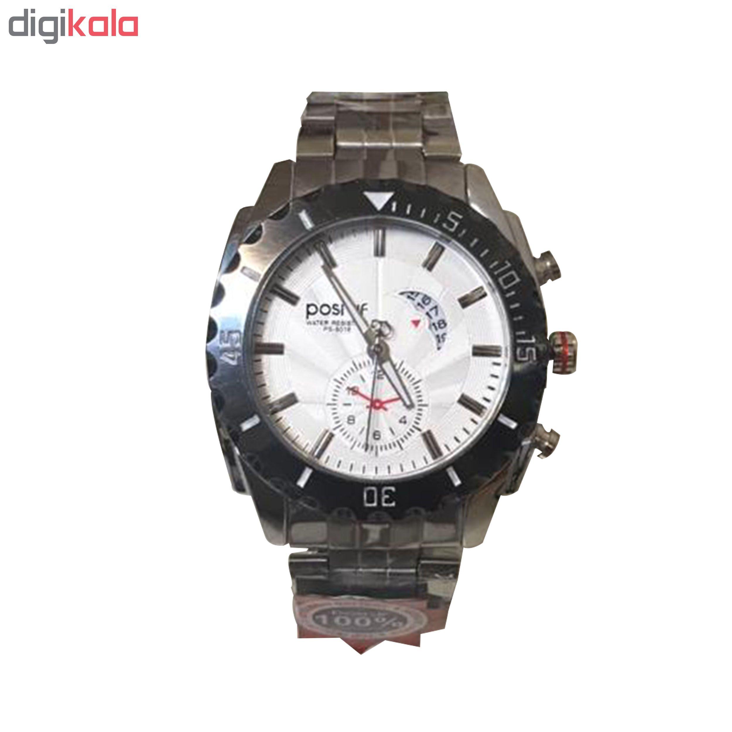خرید ساعت مچی عقربه ای مردانه پوستیف کد ps.8016