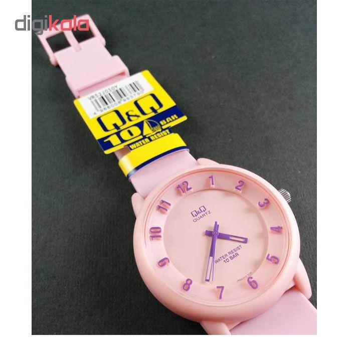 ساعت مچی عقربه ای زنانه کیو اند کیو مدل vr52j010y