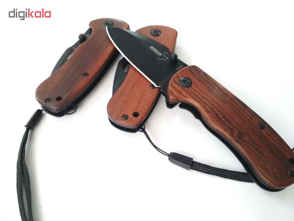 چاقو سفری بوکر مدل da66