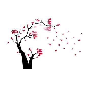 استیکر دیواری والتت طرح گل